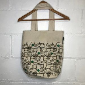 Starbucks Bags - Starbucks Canvas Tote Coffee Mermaid Reusable Bag